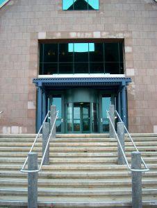 Revolving door in universities - Automatic Revolving Systems Burlington, London, Ottawa in Ontario