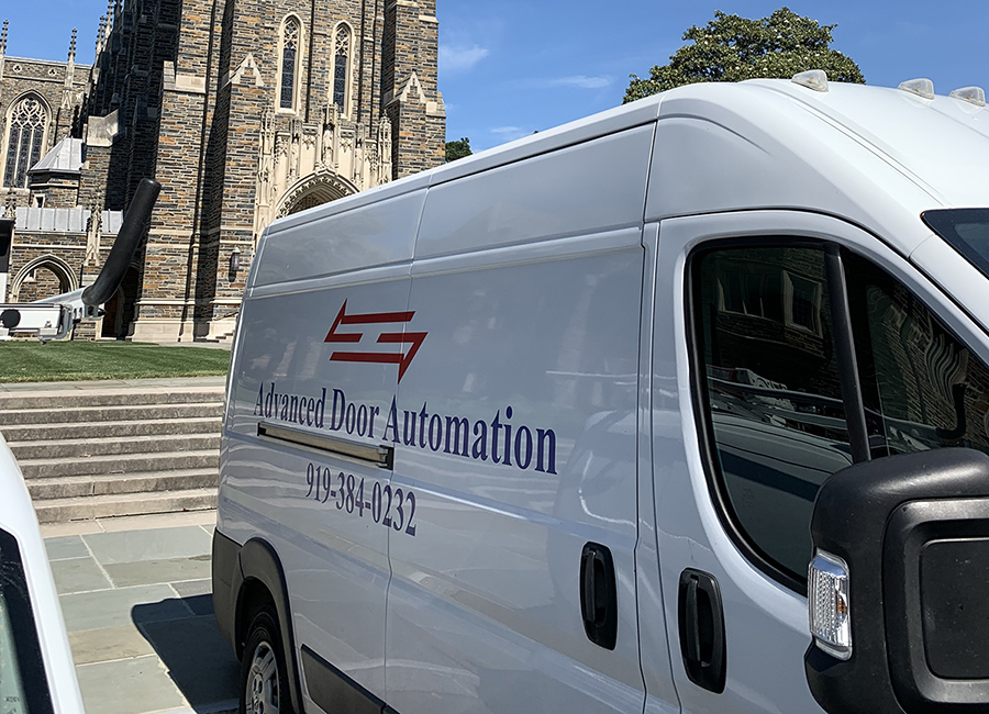 Advanced Door Automation van