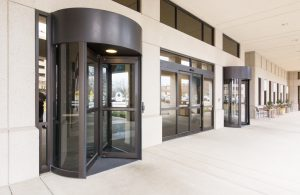 Revolving Door in Mall Burlington, London, Ottawa - Shopping Mall Entrance Revolving Door Ontario