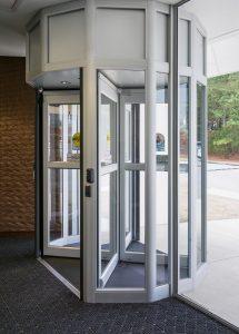 Entrance Revolving Door Burlington, London, Ottawa - Manual revolving door | Horton Automatics of Ontario