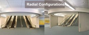 Radial Configuration Doors